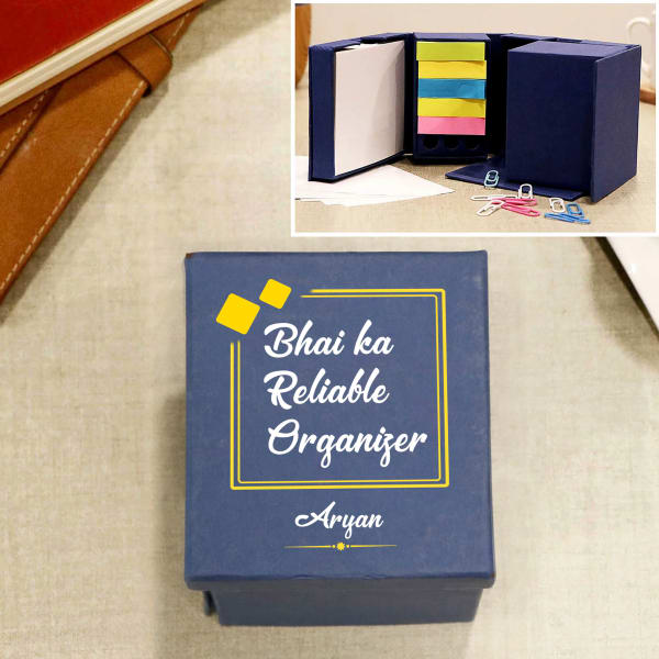 Bro Personalized Desk Stationery Cube