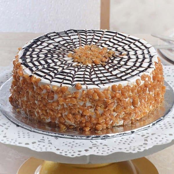 Butterscotch Cake (Eggless) (1 Kg)