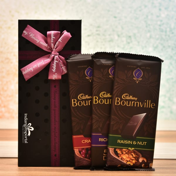More About Birthday Gifts For Friends Male Update: Cadbury Bournville Chocolates In Gift Box: Gift/Send