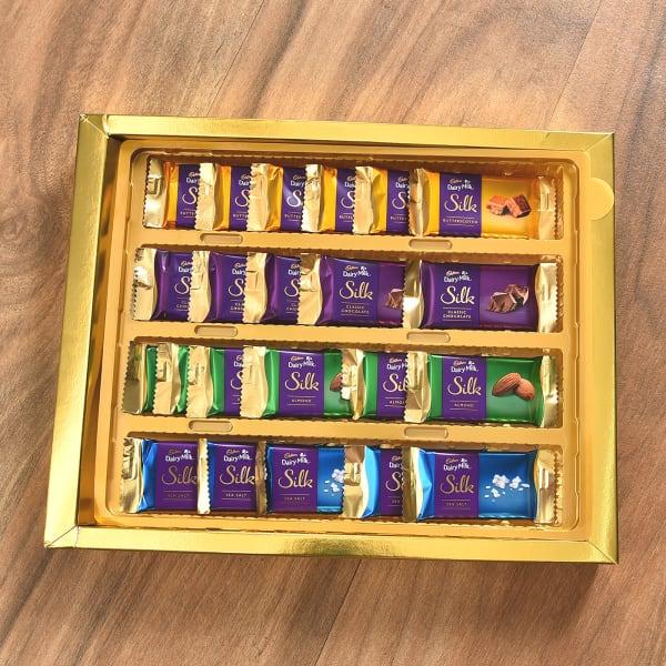 Cadbury Dairy Milk Silk 24 Miniatures Chocolate Gift Box