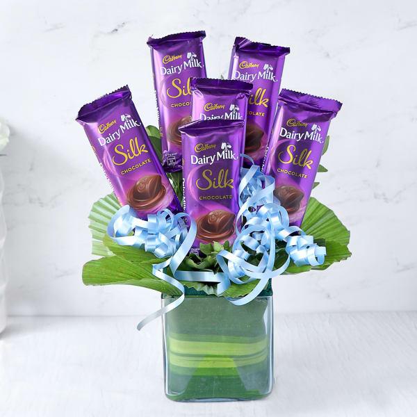 Cadbury Silk Bouquet