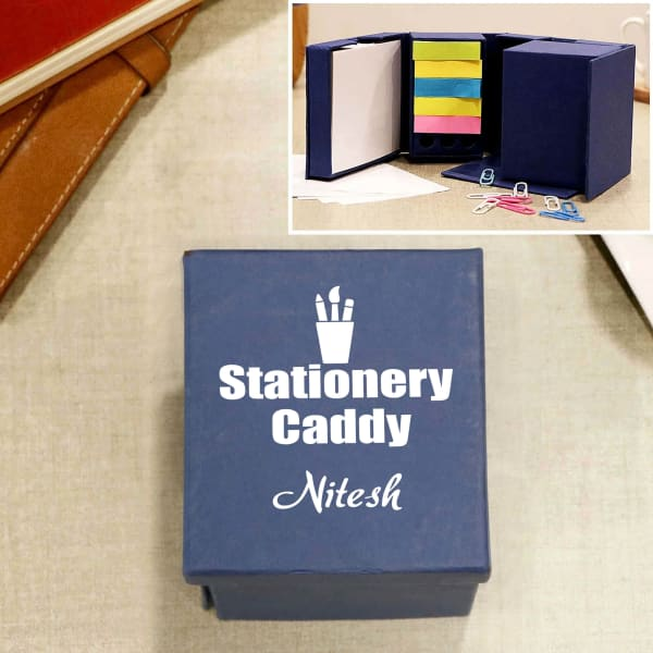 Caddy Personalized Cube Stationery Kit