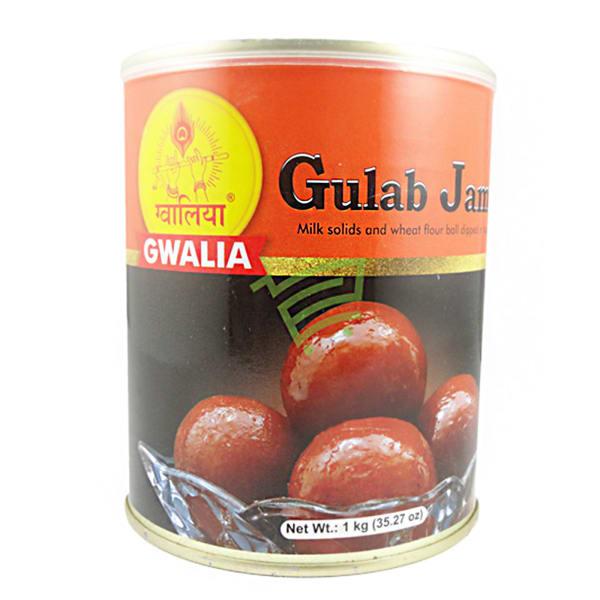 Can of Delicious Gwalia Gulab Jamun