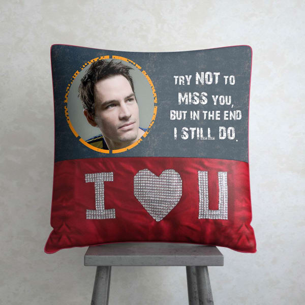 Cant Stop Missing You Personalized Cushion Giftsend Home And
