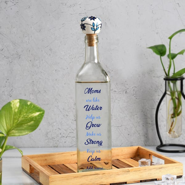 Caring Mom Personalized Water Bottle 1000ml