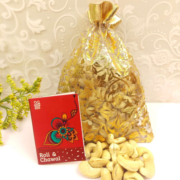Cashew Nuts 200 Gms with Tikka