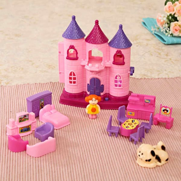 Castle with Complete Furniture Set for your Princess