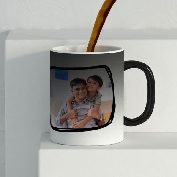 Cheers Dad Personalized Magic Mug