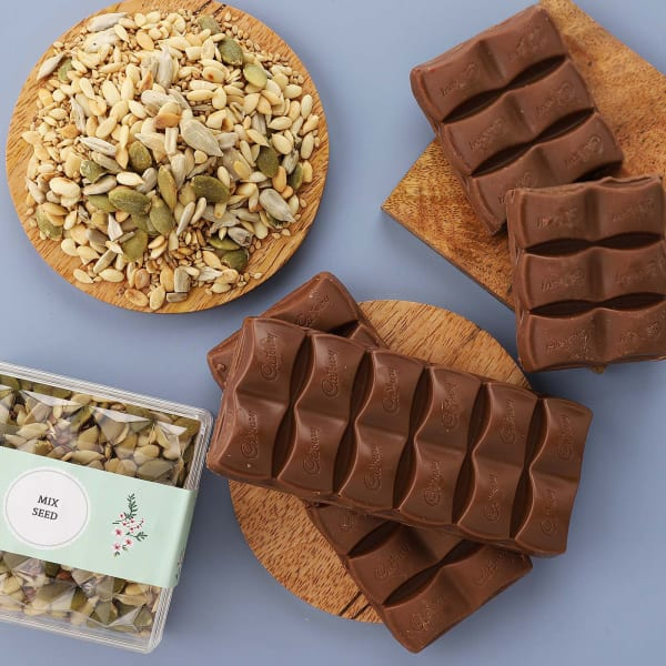 Chocolate And Seeds Gift Pack