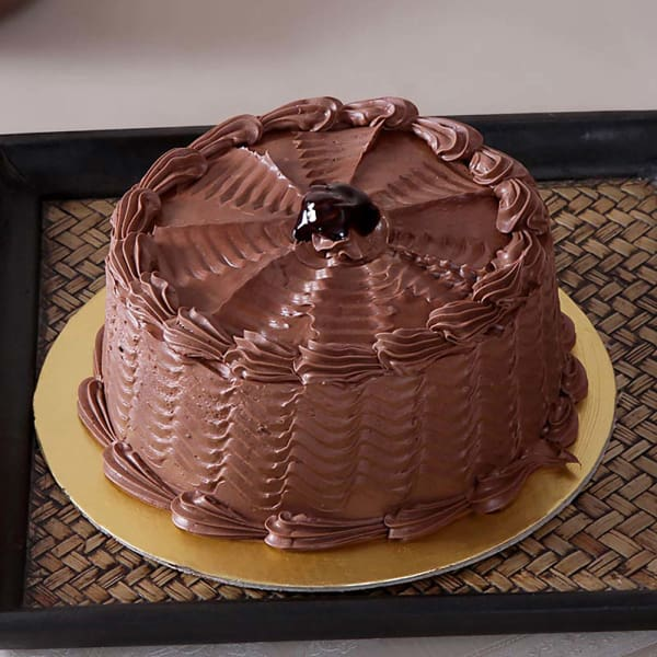 Chocolate Cake (Eggless) with Chocolate Frosting (1 Kg)
