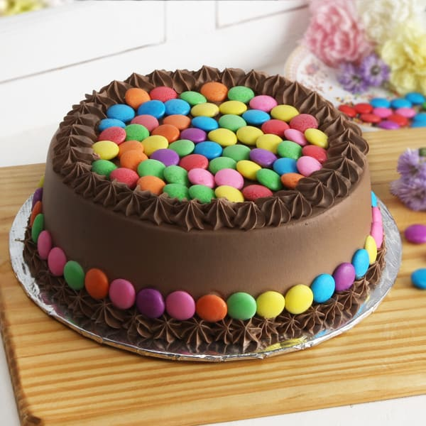Chocolate Gems Cake Half Kg