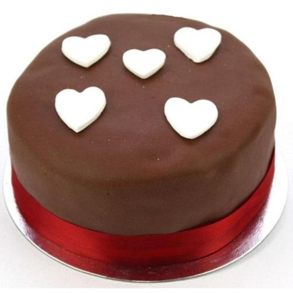 Chocolate Heart 10 inches Cake