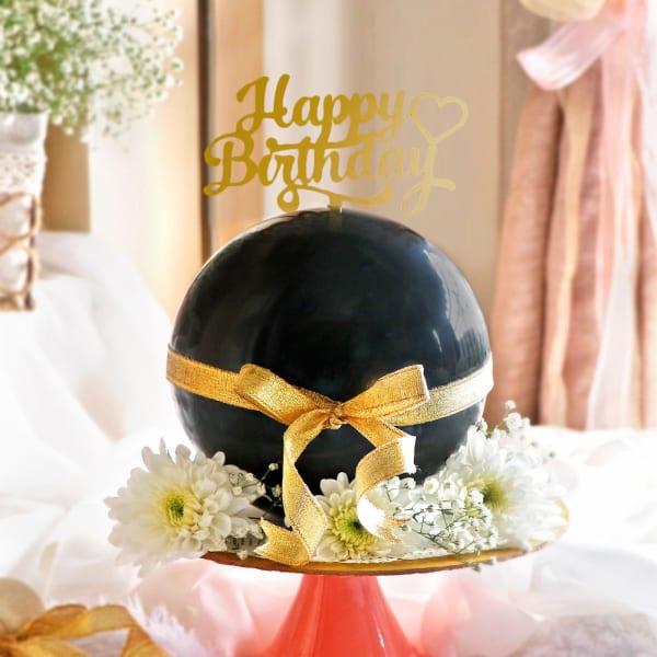 Chocolate Pinata Ball Cake for Birthday (750 Grams)