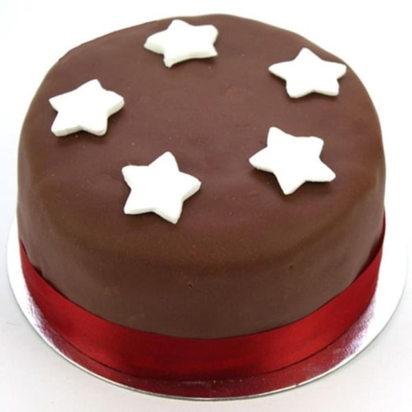 Chocolate Star 6 inches Cake