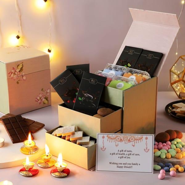 Chocolates And Dragees Diwali Hamper