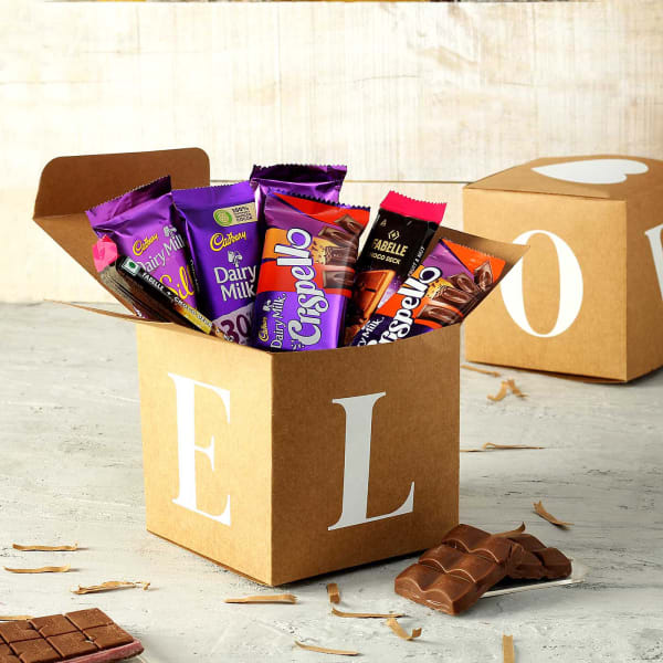 Chocolates in Gift Box