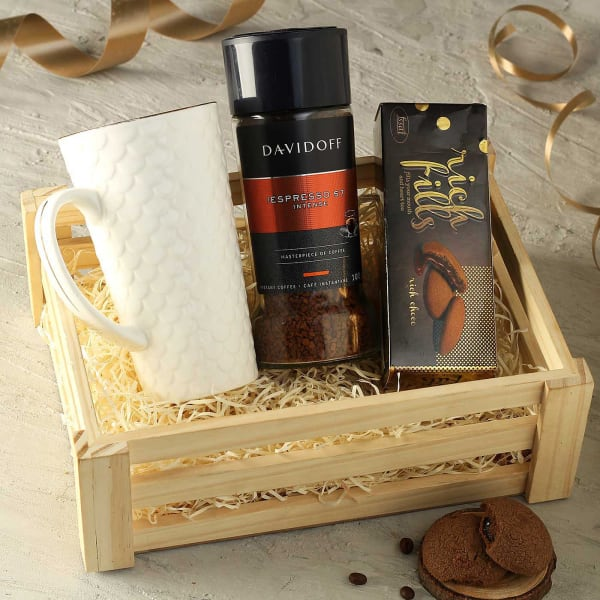 Chocolates with Coffee Gift Hamper