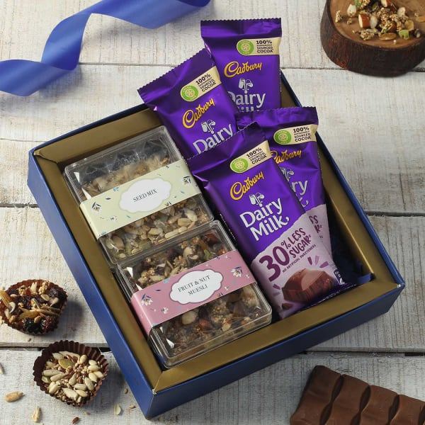 Chocolates with Seed Mix Health Gift Hamper