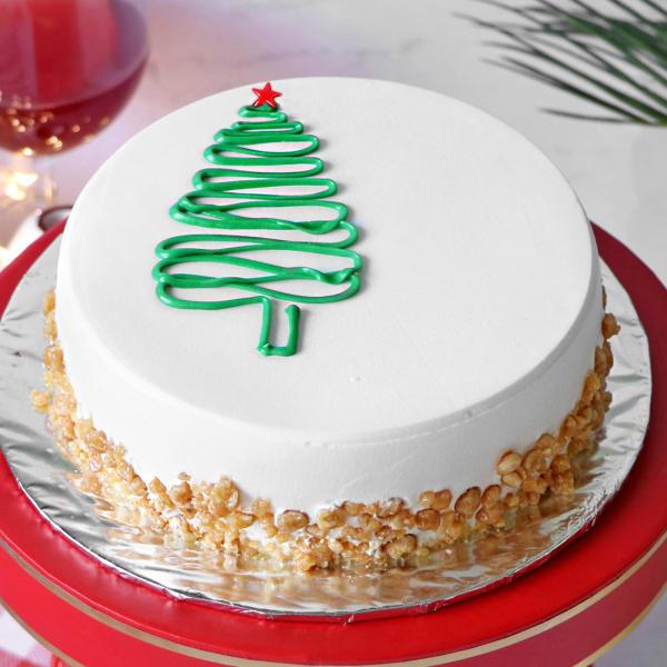Christmas Butterscotch Cake (Half Kg)