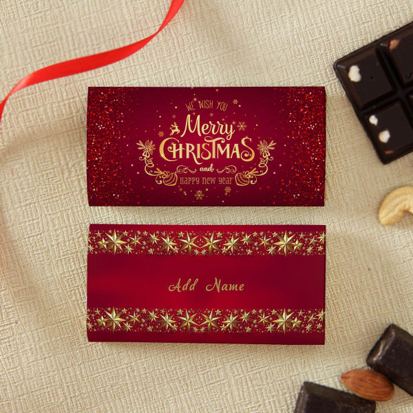 Christmas & New Year Personalized Chocolates
