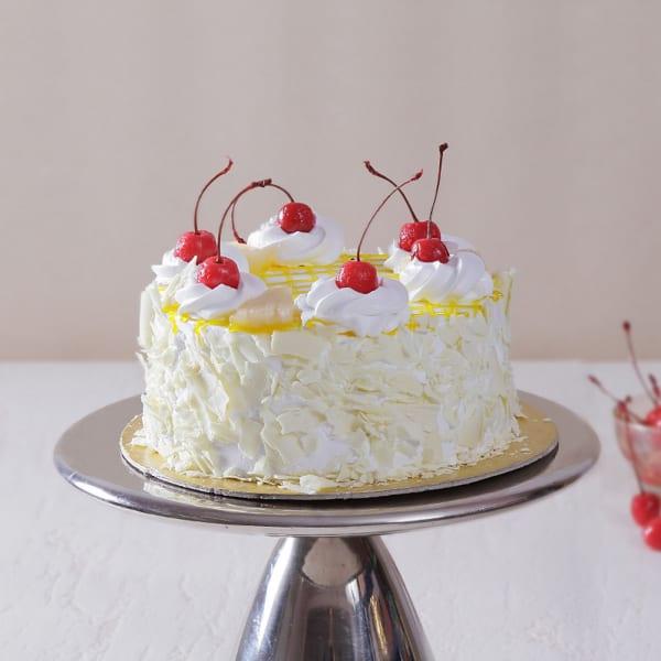 Classic Half Kg Round Pineapple Cake