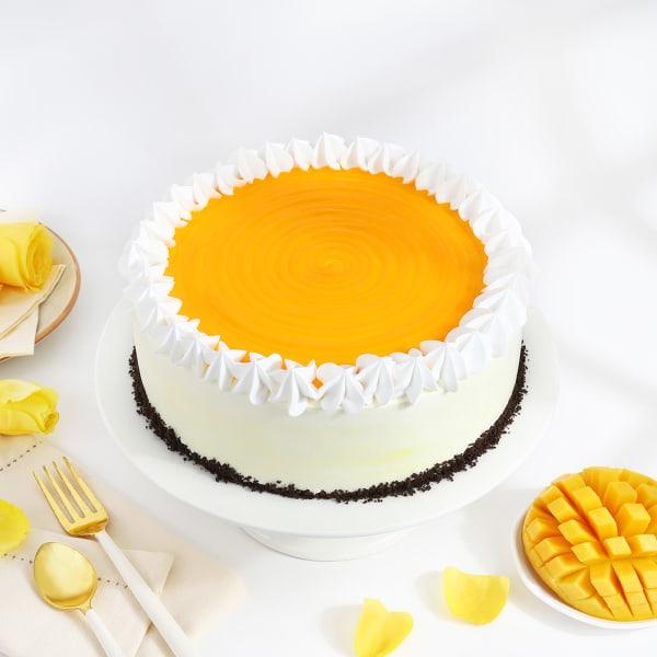 Classic Mango Cake (Half Kg)