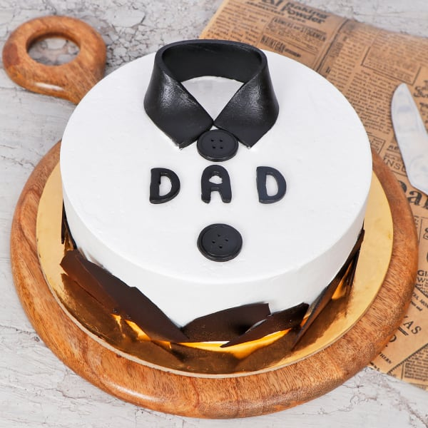 Classic Shirt Theme Cake for DAD