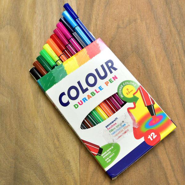 Colour Durable Sketch Pen for Kids