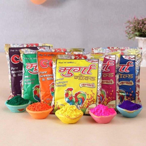 Combo of 6 Holi Gulaal