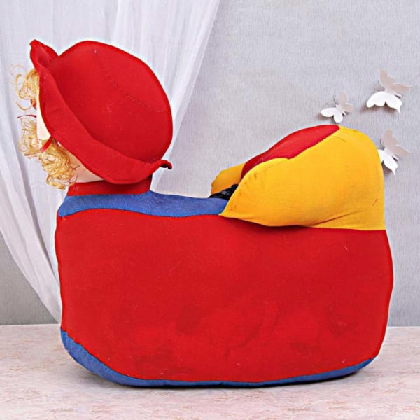 Comfortable Doll Faced Chair For Kids Gift Send Home And Living