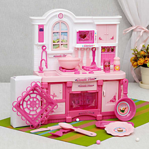 Cook Fun Kitchen Set Gift Send Toys And Games Gifts Online L11024234 Igp Com