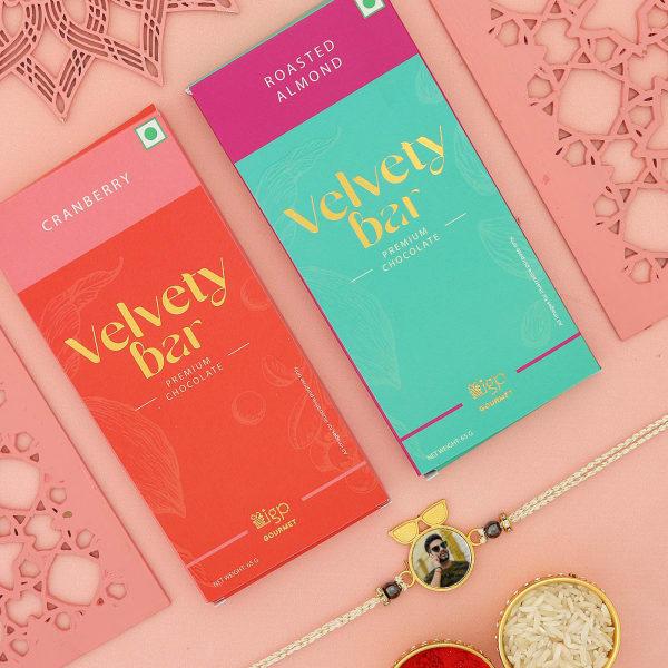 Cool Bro Personalized Rakhi With Chocolates