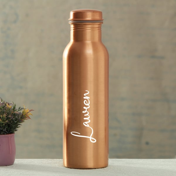 Copper Bottle with Personalization