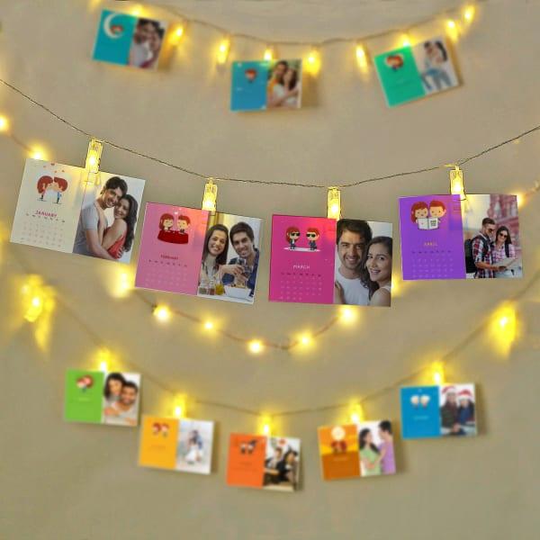 Couples Personalized Photo Calendar