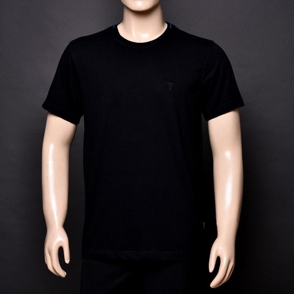Crew Neck Black T-Shirt