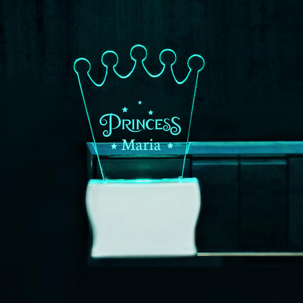 Crown Shape Princess Decorative LED Lamp