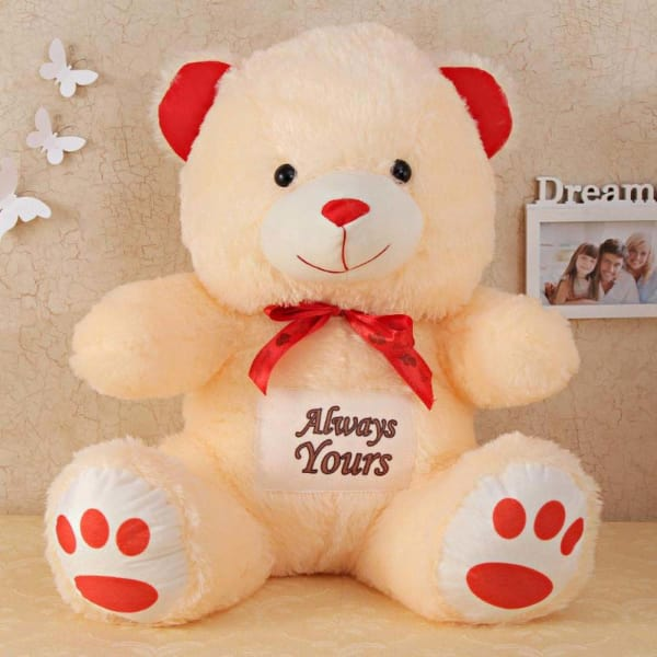 Cuddly Teddy Bear Soft Toy: Gift/Send Toys and Games Gifts Online L11007302 |IGP.com