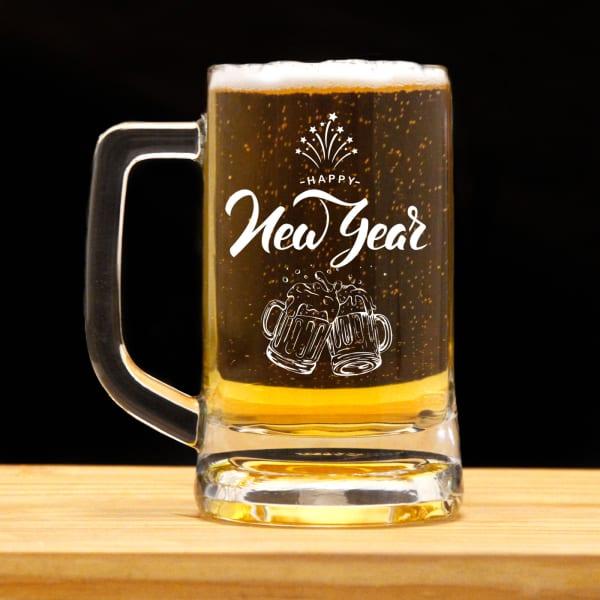 Customised New Year Beer Mug