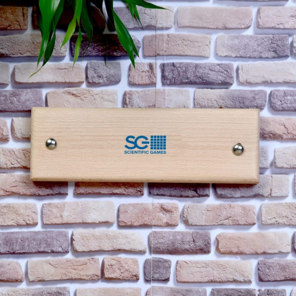 Customized Wooden Door Plate