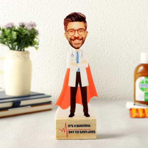 Cute Personalized Doctor Caricature