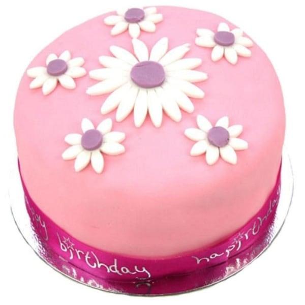 Daisy Celebration 6 inches Cake