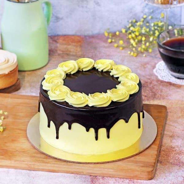Dark Chocolate Ganache Cake (Half kg)