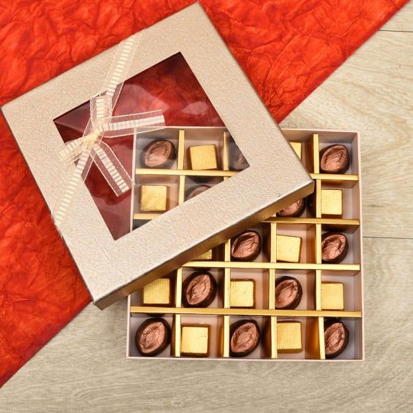 Dark Crunch and Milk Almond Chocolates