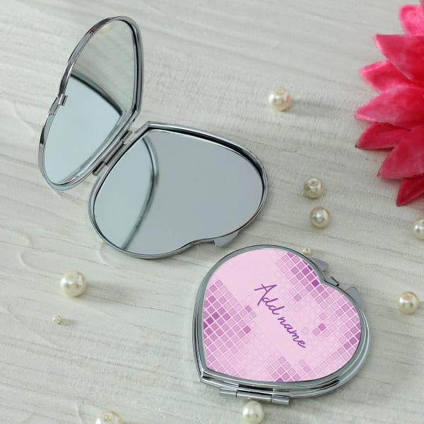 Dazzling Personalized Compact Mirror