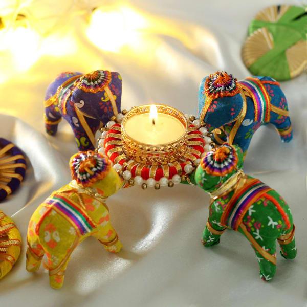 Decorative Designer Centerpiece Tea-light Candle