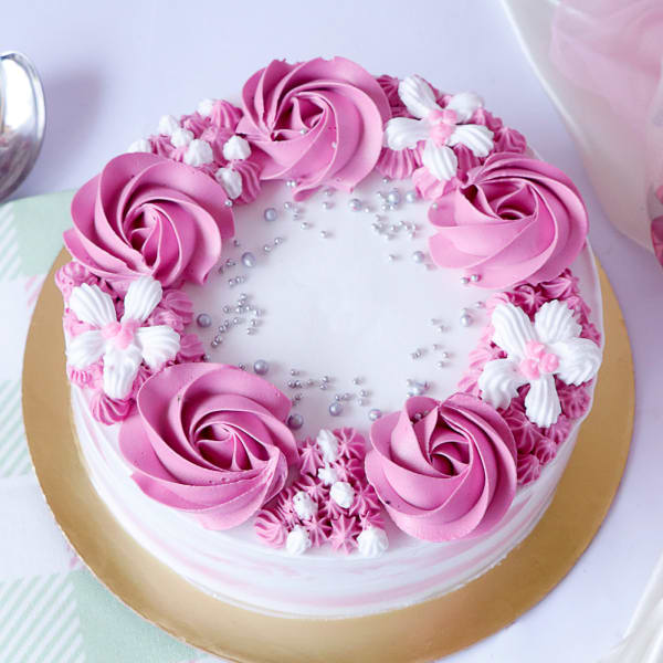 Delicious Chocolate Cake (Eggless) with Premium Frosting (1 Kg)