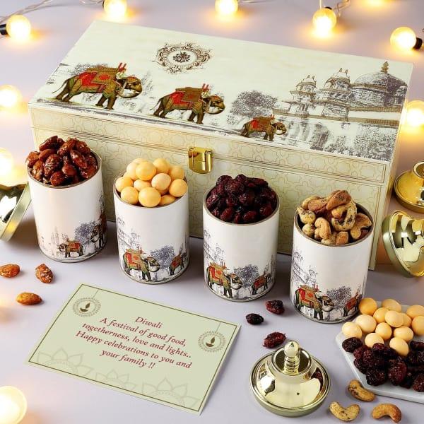 Delicious Gourmet Snacks Diwali Hamper