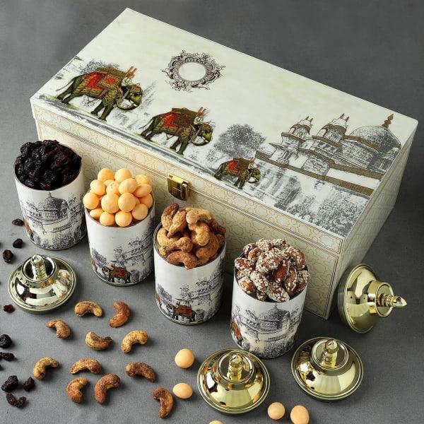 Delicious Gourmet Snacks Gift Box