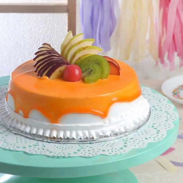 Delicious Mixed Fruit Cake (Eggless) (1 Kg)