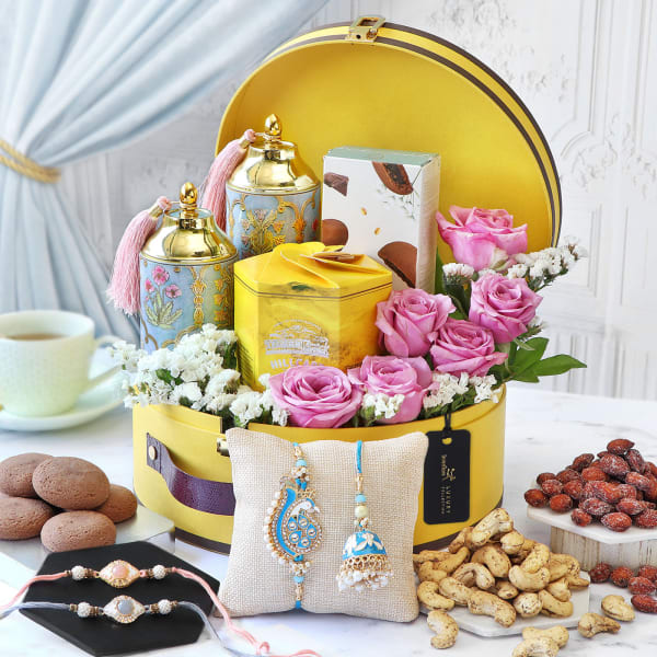 Delightful Traditions Rakhi Gift Box